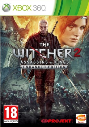 The Witcher 2: Assassins of King Xbox 360 Cover