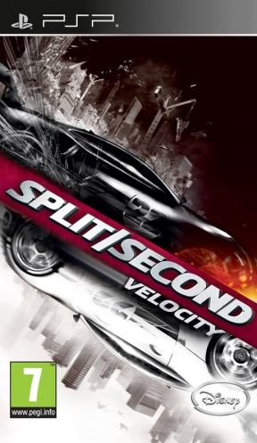 Split/Second: Velocity PSP Cover