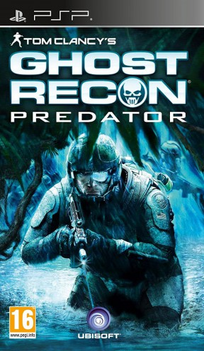 Ghost Recon Predator PSP Cover