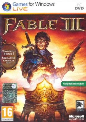 Fable 3 PC Cover