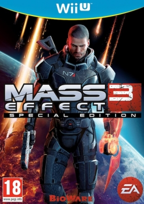 Mass Effect 3 Wii U Cover