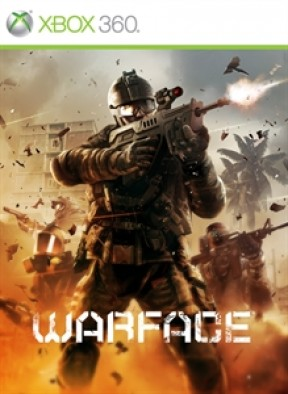 Warface Xbox 360 Cover