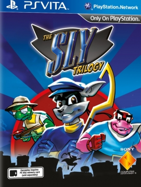 Sly Collection PS Vita Cover