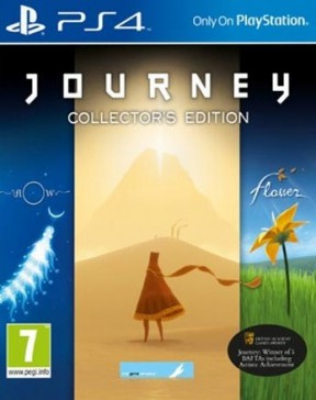 Journey PS4 Cover