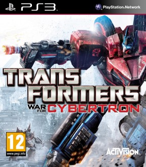 Transformers: War for Cybertron PS3 Cover