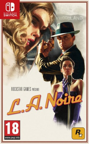 L.A. Noire Switch Cover