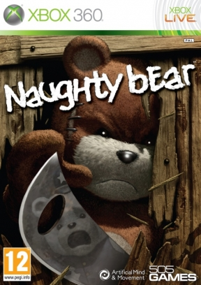 Naughty Bear Xbox 360 Cover