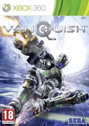 Vanquish Xbox 360 Cover