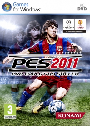 Pro Evolution Soccer 2011 PC Cover