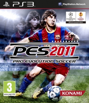 Pro Evolution Soccer 2011 PS3 Cover