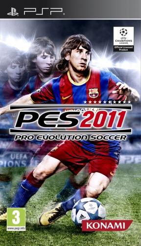 Pro Evolution Soccer 2011 PSP Cover