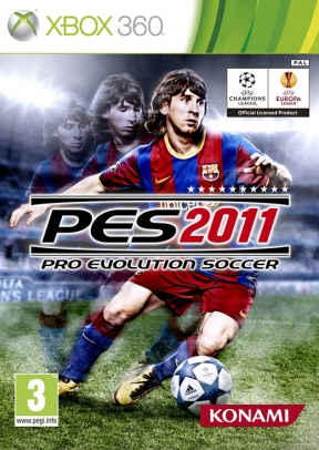 Pro Evolution Soccer 2011 Xbox 360 Cover