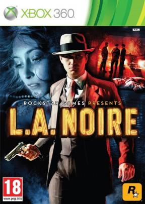 L.A. Noire Xbox 360 Cover