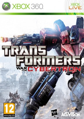 Transformers: War for Cybertron Xbox 360 Cover