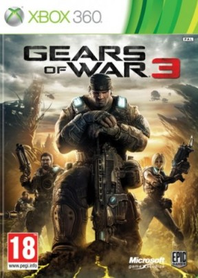 Gears of War 3 Xbox 360 Cover