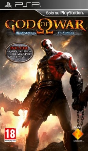 God of War: Ghost of Sparta PSP Cover