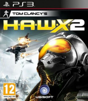 Tom Clancy's H.A.W.X. 2 PS3 Cover