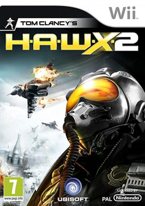 Tom Clancy's H.A.W.X. 2 Wii Cover