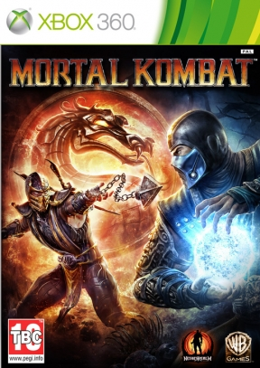 Mortal Kombat 9 Xbox 360 Cover