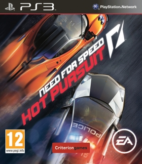 Need for Speed: Hot Pursuit PS3 Cover