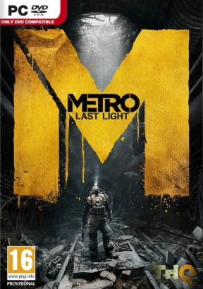 Metro: Last Light PC Cover