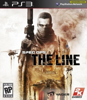 Spec Ops: The Line PS3 Cover