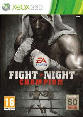 Fight Night Champion Xbox 360 Cover