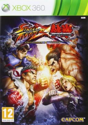 Street Fighter X Tekken Xbox 360 Cover