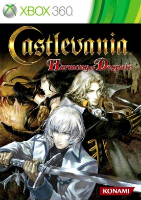 Castlevania: Harmony of Despair Xbox 360 Cover