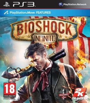 Bioshock: Infinite PS3 Cover