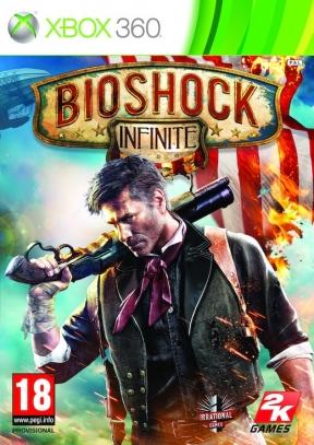 Bioshock: Infinite Xbox 360 Cover