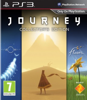Journey PS3 Cover