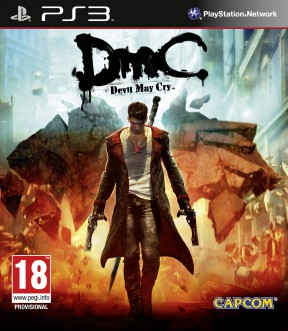 DMC Devil May Cry PS3 Cover