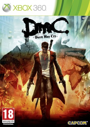 DMC Devil May Cry Xbox 360 Cover