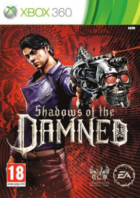 Shadows of the Damned Xbox 360 Cover