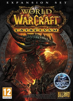 World of Warcraft: Cataclysm PC Cover