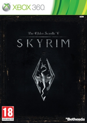 The Elder Scrolls V: Skyrim Xbox 360 Cover