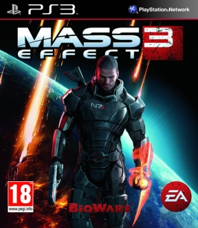 Mass Effect 3 PS3 Cover