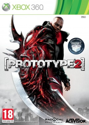 Prototype 2 Xbox 360 Cover
