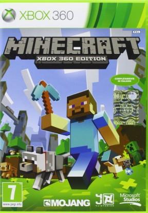 Minecraft Xbox 360 Cover