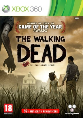 The Walking Dead Xbox 360 Cover