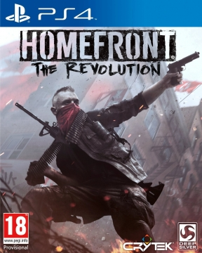 Homefront: The Revolution PS4 Cover