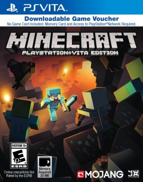 Minecraft PS Vita Cover