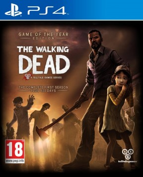 The Walking Dead PS4 Cover