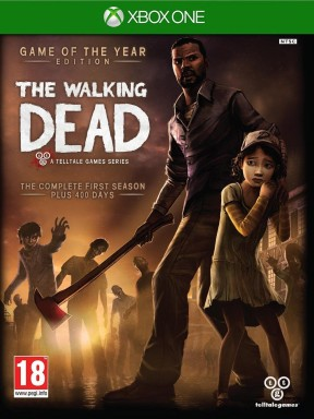 The Walking Dead Xbox One Cover