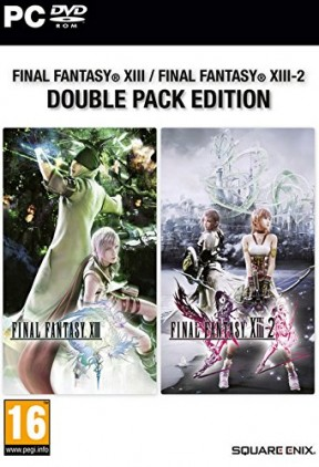 Final Fantasy XIII-2 PC Cover