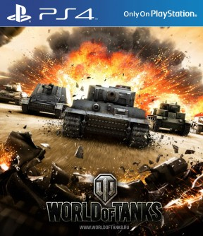 World of Tanks PS4 Cover