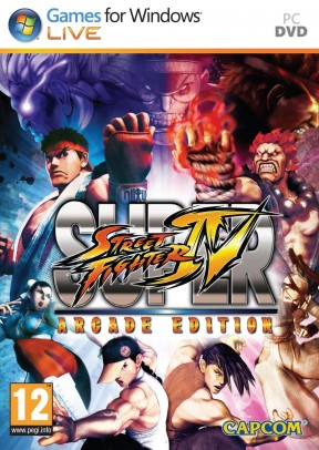 Super Street Fighter IV: Arcade Edition PC Cover