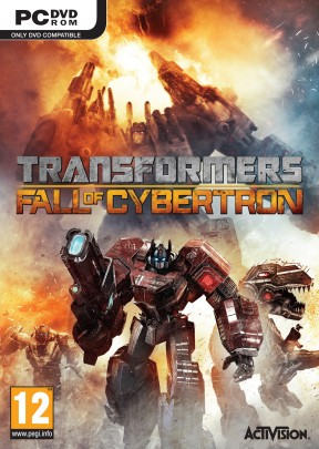 Transformers: Fall of Cybertron PC Cover