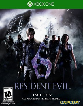 Resident Evil 6 Xbox One Cover